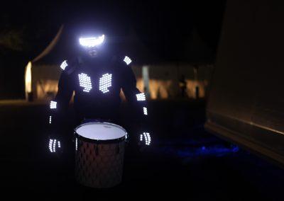 Drumbots LED Percussion Crew