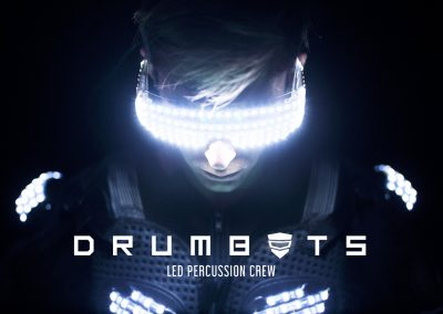 Drumbots LED Percussion Crew